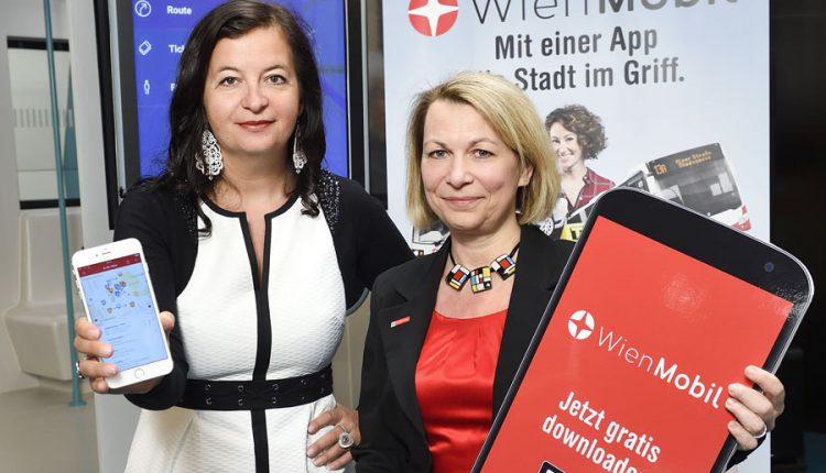 "WienMobil: Nova aplikacija ""Wiener Linien"""